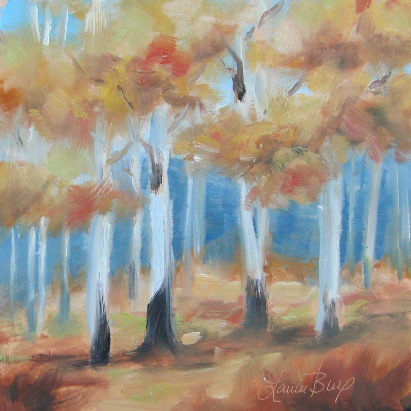 """Season I 284"" original fine art by Laura  Buxo"