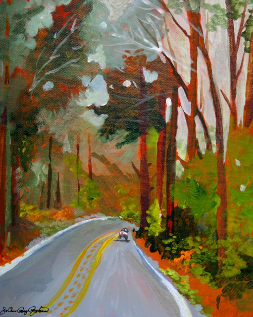 """Heading into Fall"" original fine art by JoAnne Perez Robinson"