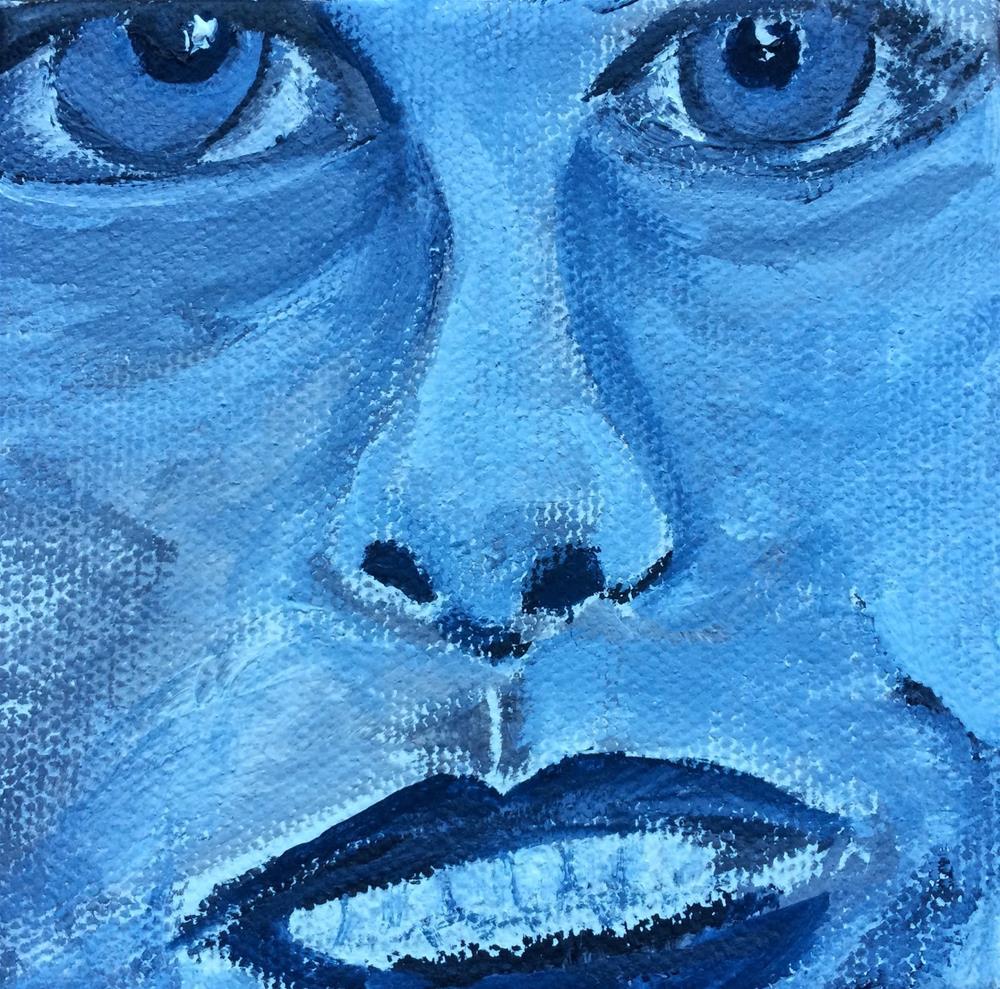 """Expressions - Ugh"" original fine art by Kimberly Balentine"