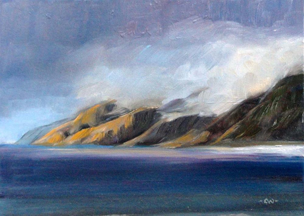 """After The Squall"" original fine art by Cietha Wilson"