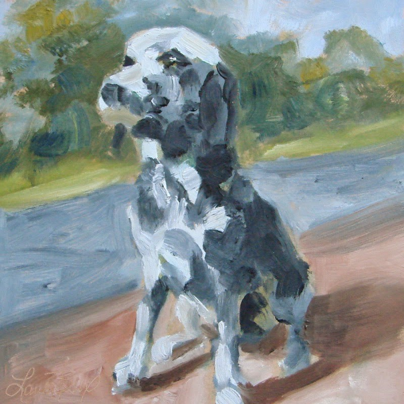 """""""Spot"""" original fine art by Laura  Buxo"""