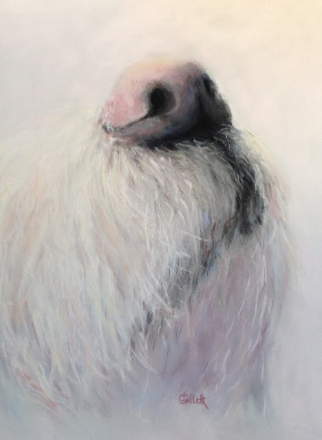 """The Nose Knows"" original fine art by Cindy Gillett"