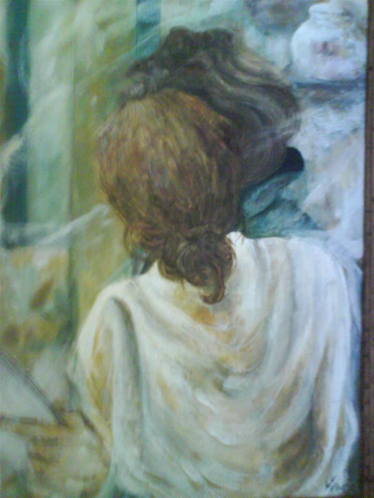 """Woman 2"" original fine art by Monica Pinotti"