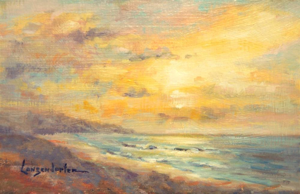 """CLOSE OF DAY"" original fine art by Dj Lanzendorfer"