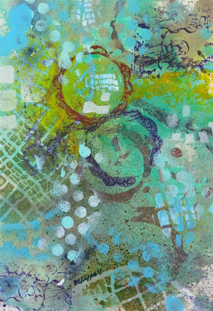 """Little Treasures"" original fine art by Becky Chappell"