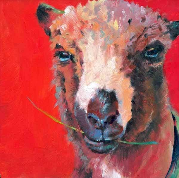 """Mr. Casual"" original fine art by Brenda Ferguson"