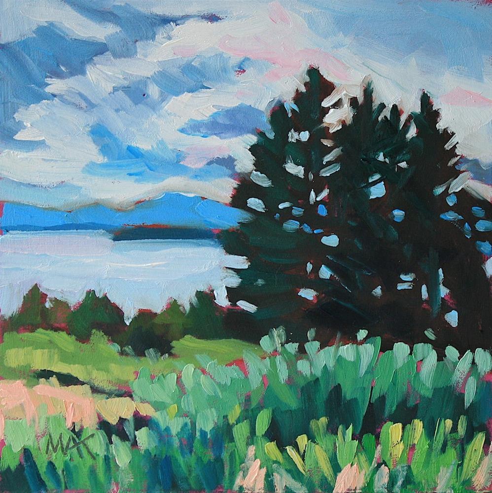 """Island Magic"" original fine art by Mary Anne Cary"