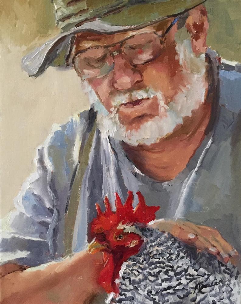 """I Remember You"" original fine art by Marcia Hodges"