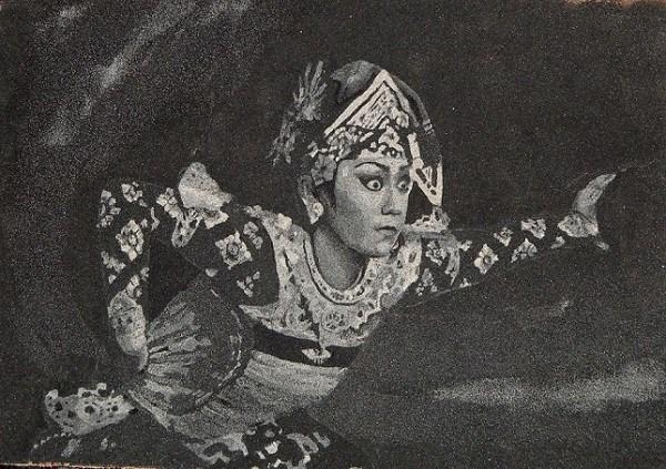 """bali dancer"" original fine art by wawan ms"