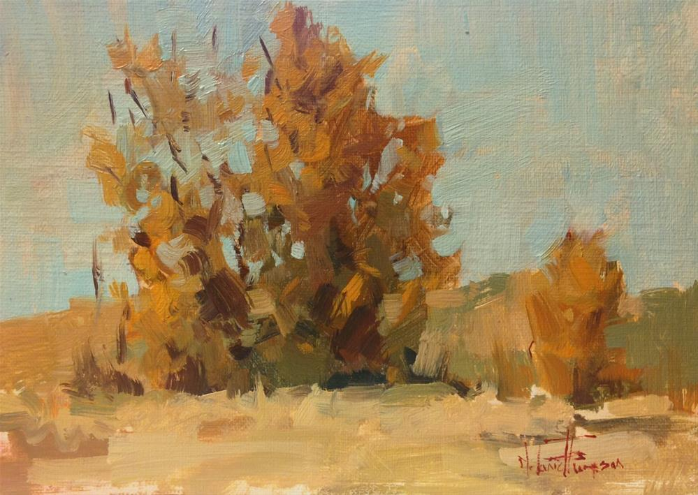 """Golden Cluster"" original fine art by Melanie Thompson"