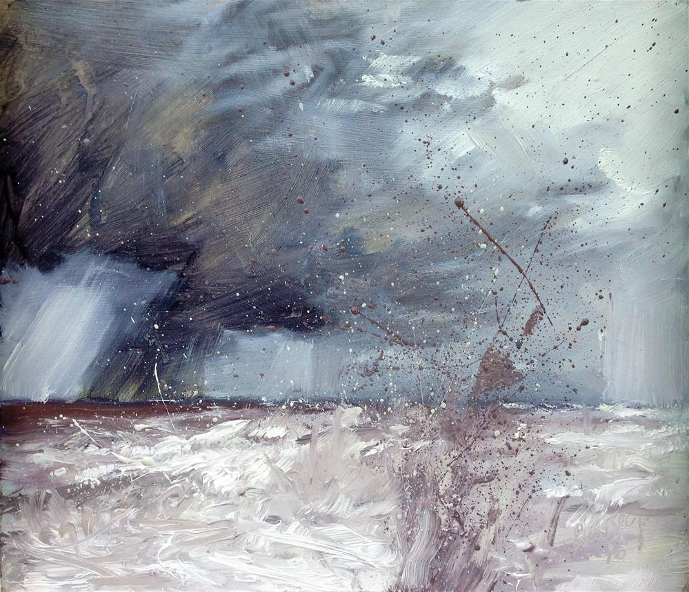 """April Showers"" original fine art by Tanya Pawsey"