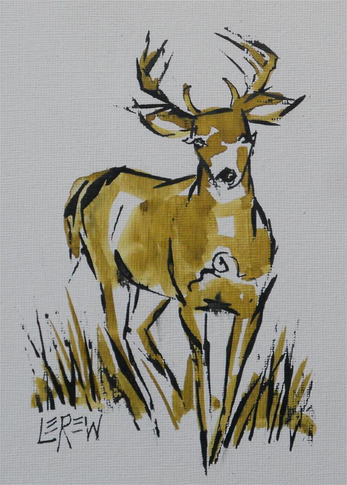 """""""Ink Sketch #13-06-22 by Larry Lerew"""" original fine art by Larry Lerew"""