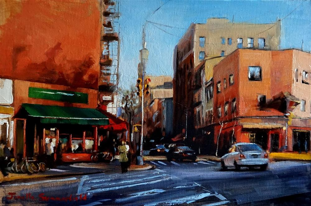 """Afternoon in Greenwich Village"" original fine art by Jonelle Summerfield"