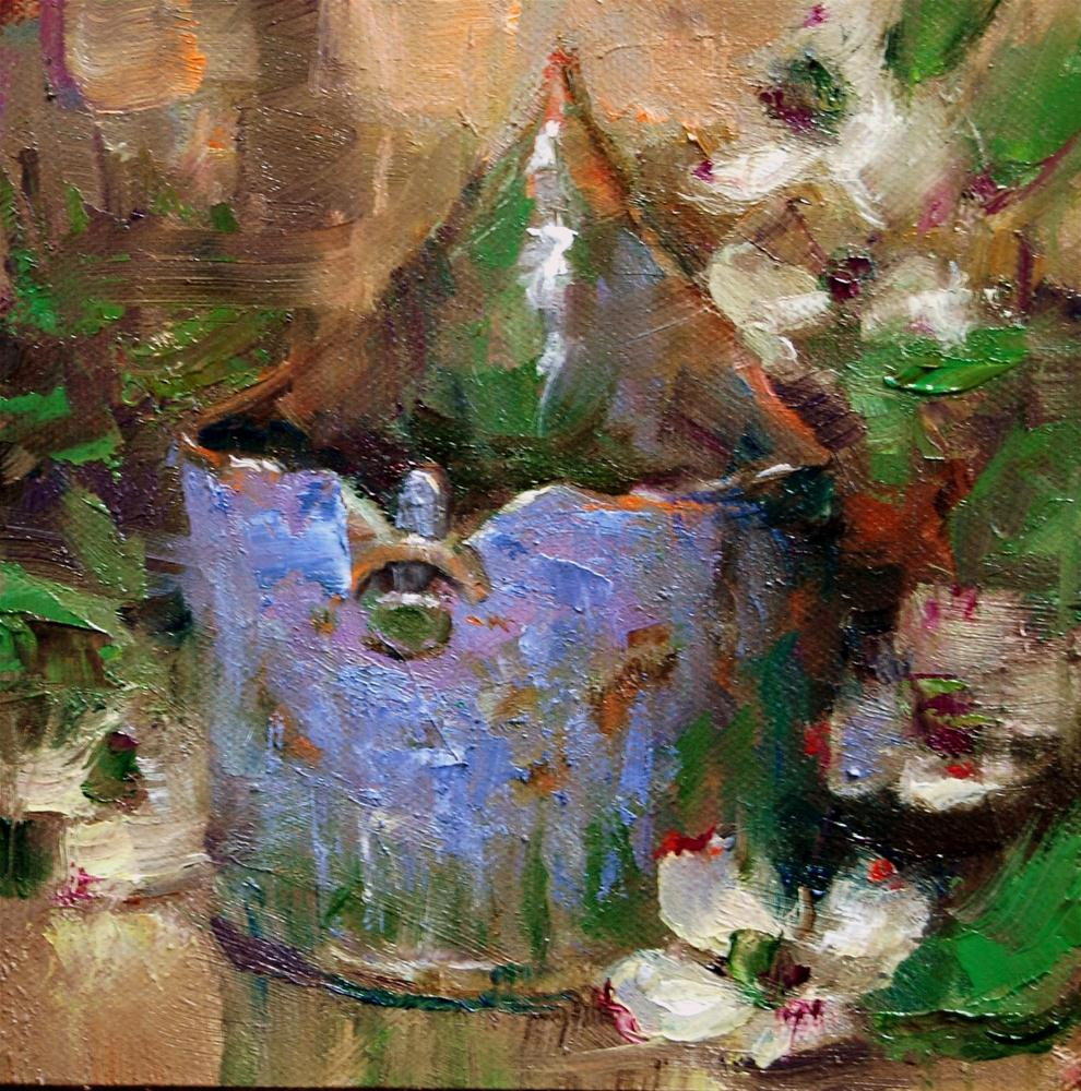 """Mother's Pottery #2"" original fine art by Julie Ford Oliver"