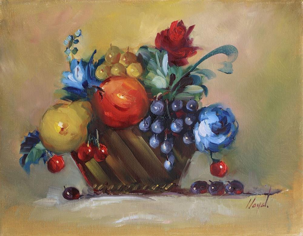 """""""Still Life with Pear"""" original fine art by Diane Lloyd"""