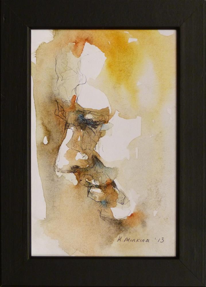 """Cafesketch7"" original fine art by Katya Minkina"