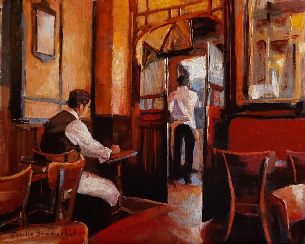 """Between Shifts"" original fine art by Jonelle Summerfield"