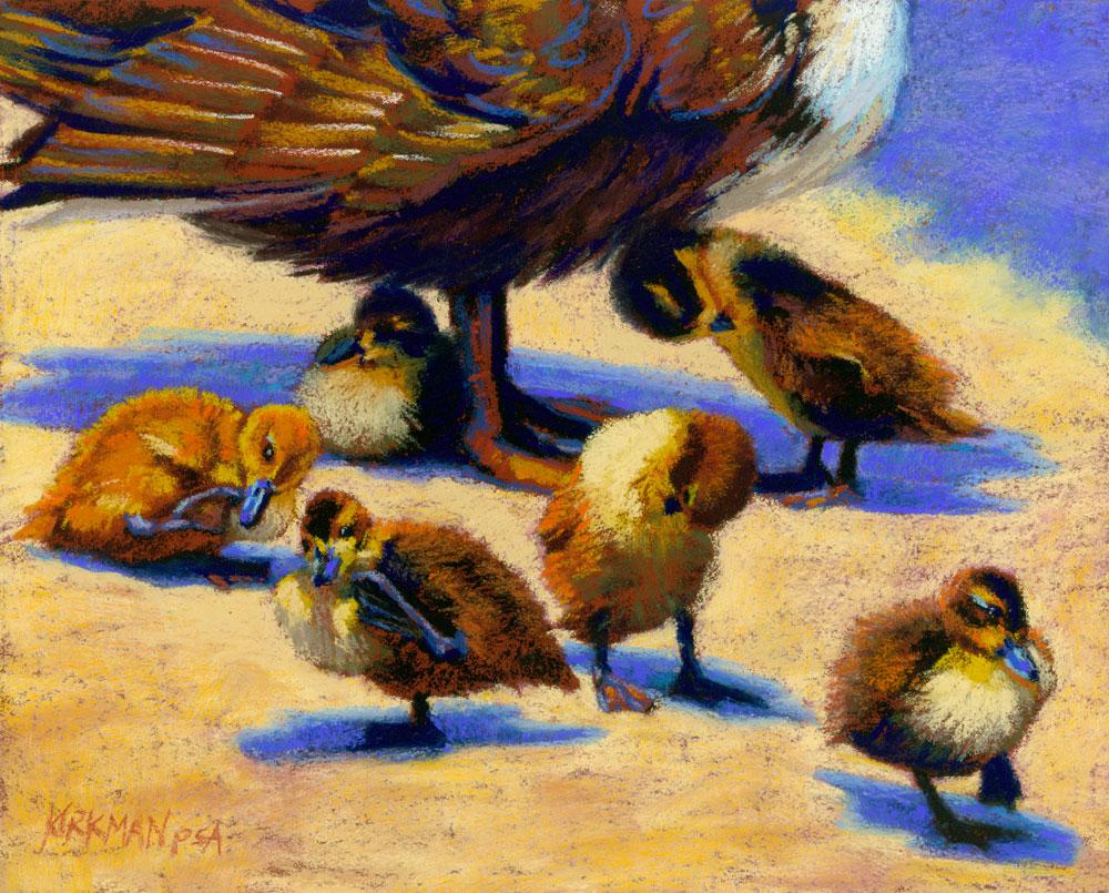 """Washing Up"" original fine art by Rita Kirkman"