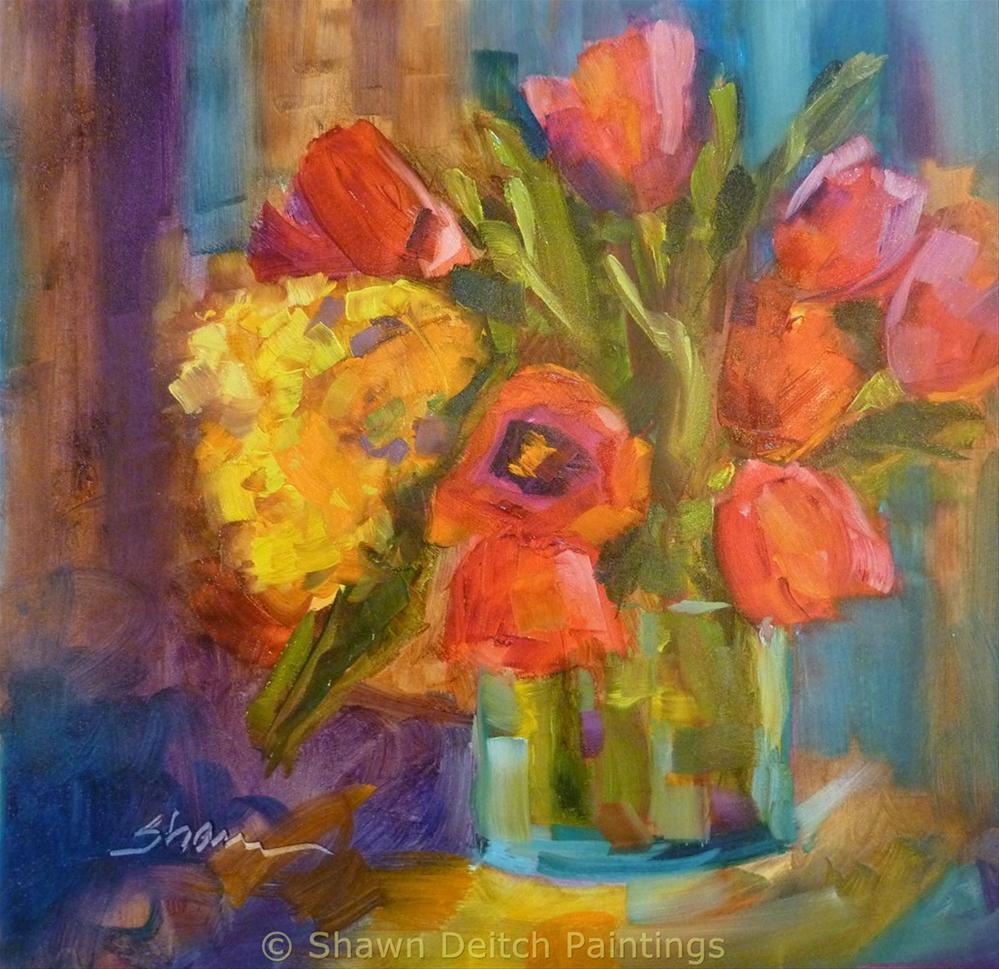 """Tulip Time"" original fine art by Shawn Deitch"