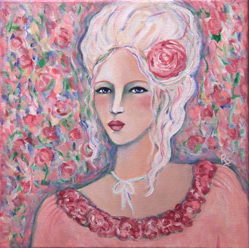 """The Royal Beauty"" original fine art by Roberta Schmidt"