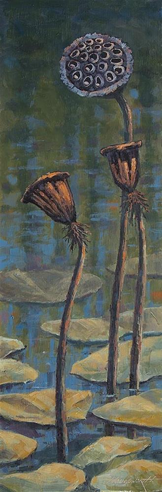 """Lotus 2"" original fine art by Terry Houseworth"