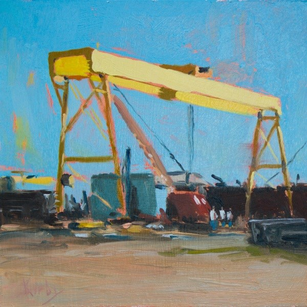 """Ironworks"" original fine art by Randall Cogburn"