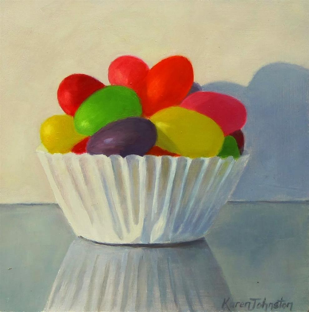 """Sweet As"" original fine art by Karen Johnston"