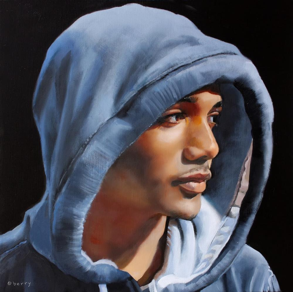 """""""IN THE HOOD"""" original fine art by Suzanne Berry"""