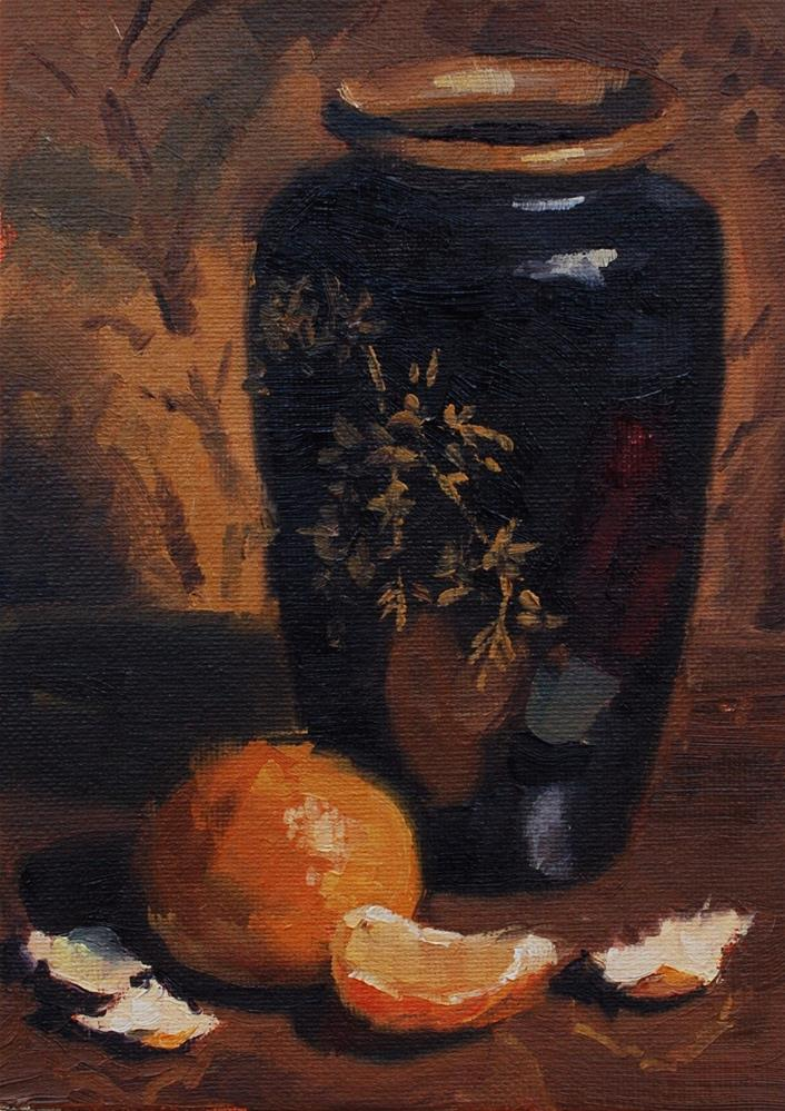 """Mr. Leffel Inspires"" original fine art by Susan McManamen"