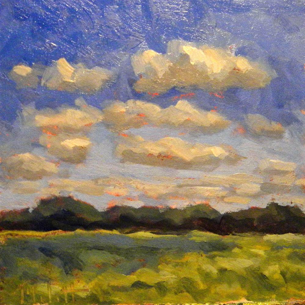 """Fields of Summer"" original fine art by Heidi Malott"