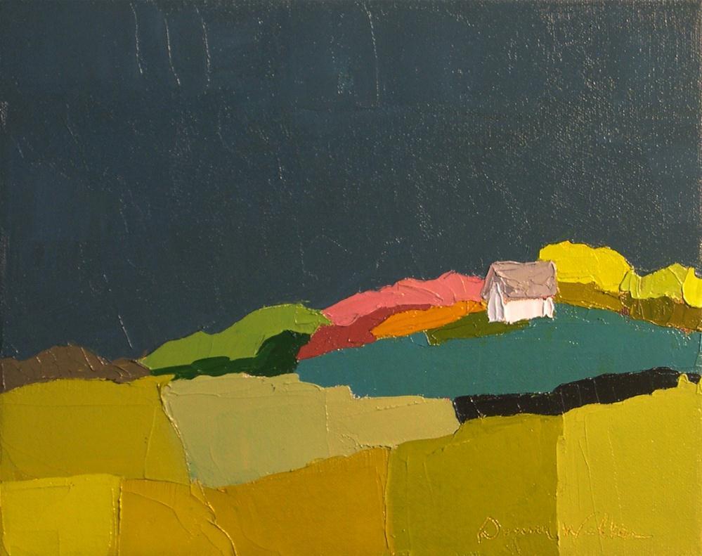 """""""Blue Midnight"""" original fine art by Donna Walker"""