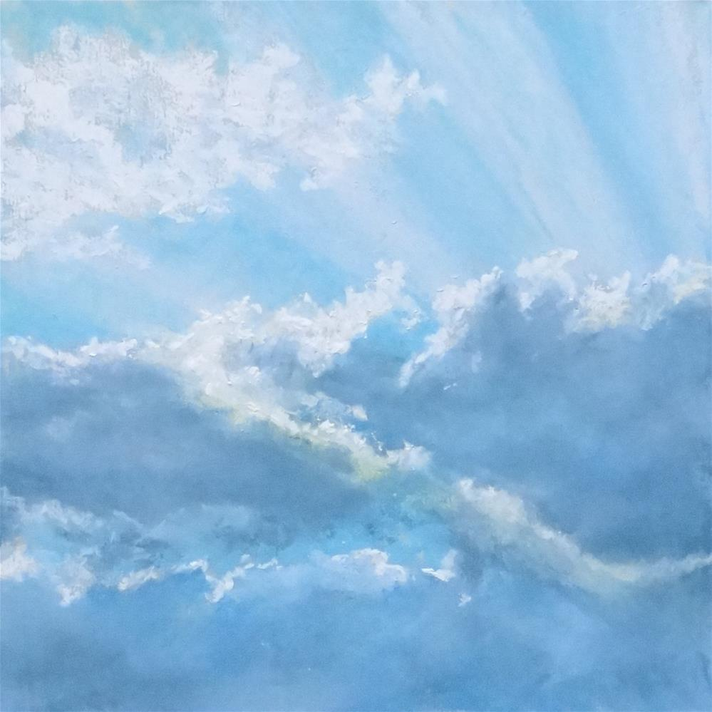 """Sky #12"" original fine art by Denise Beard"