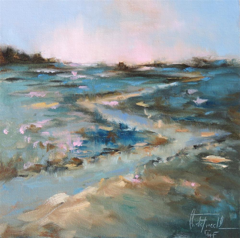 """Dawn"" original fine art by Christa Friedl"