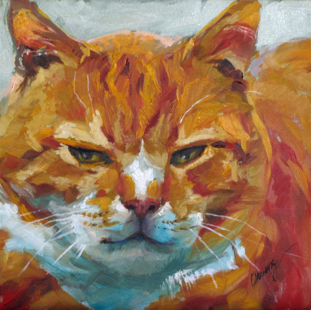 """Thomas"" original fine art by Sharman Owings"