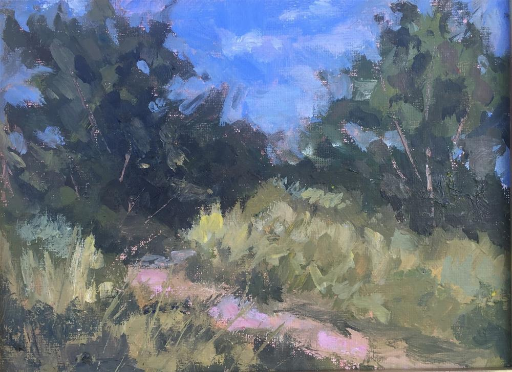 """South Platte Park in Summer"" original fine art by Rick Blankenship"