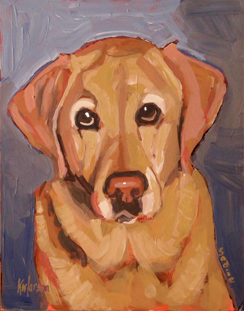 """Sadie Stare"" original fine art by Kevin Larson"