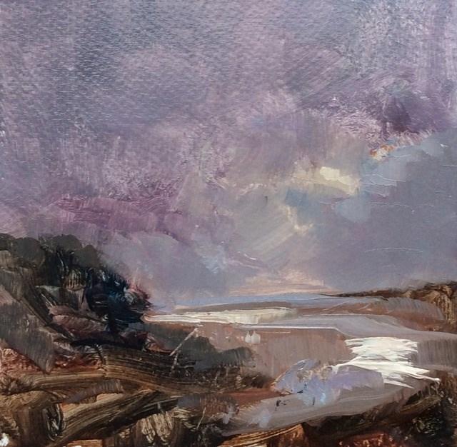"""Balmy Evening"" original fine art by Anne Wood"