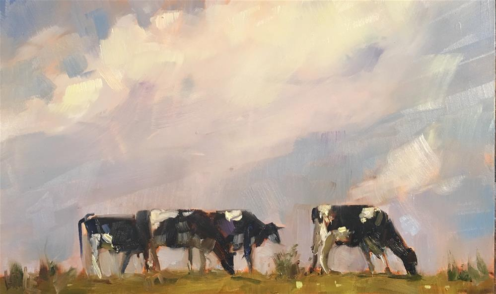 """#497 Big Sky"" original fine art by Patty Voje"