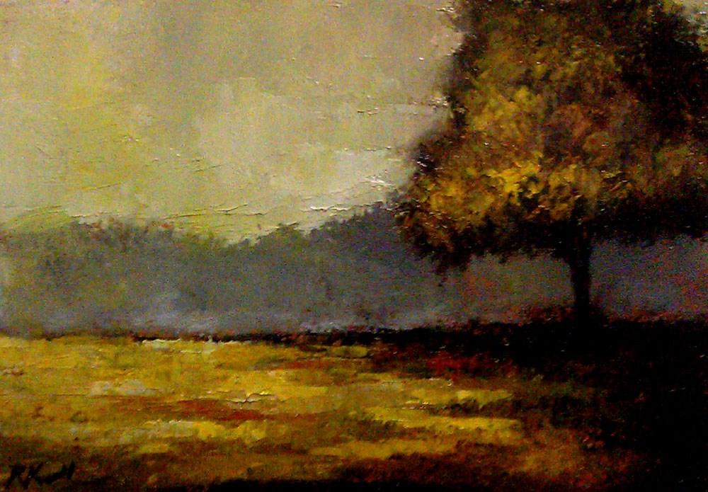 """""""Another Shady Tree"""" original fine art by Bob Kimball"""