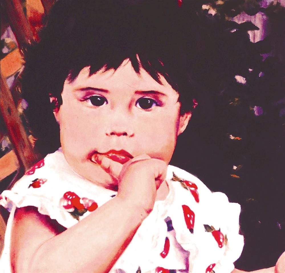 """Baby Alexsa, 16x20 Oil on Canvas, Portrait"" original fine art by Carmen Beecher"