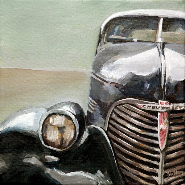 """1188 Old Chevy"" original fine art by Dietmar Stiller"