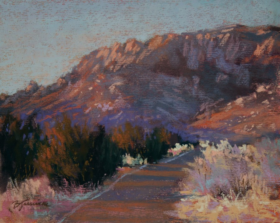 """Desert Journey"" original fine art by Barbara Jaenicke"