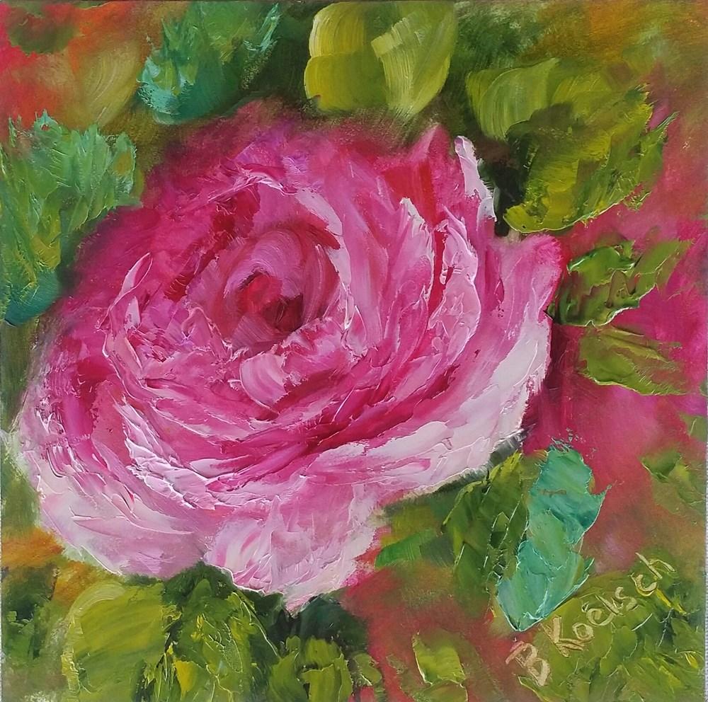 """""""Salute to Spring"""" original fine art by Bobbie Koelsch"""