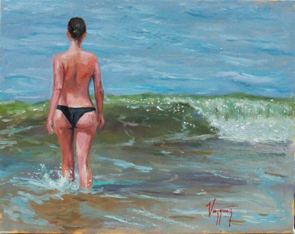 """Summer bliss"" original fine art by Marco Vazquez"