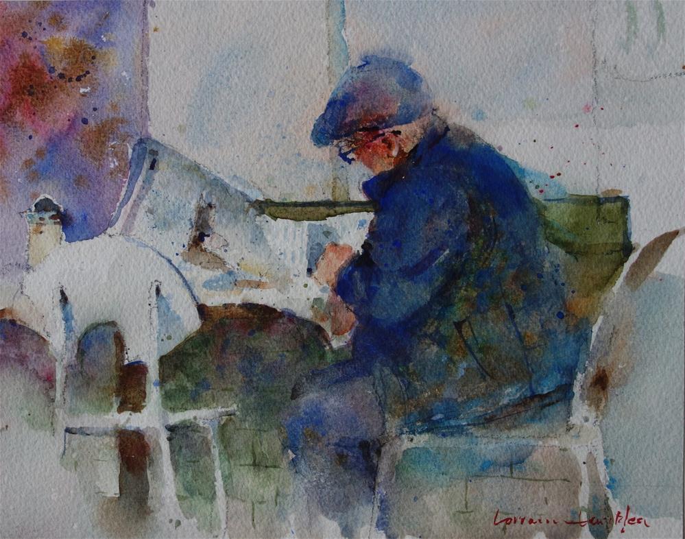 """Stockmarket"" original fine art by Lorraine Lewitzka"