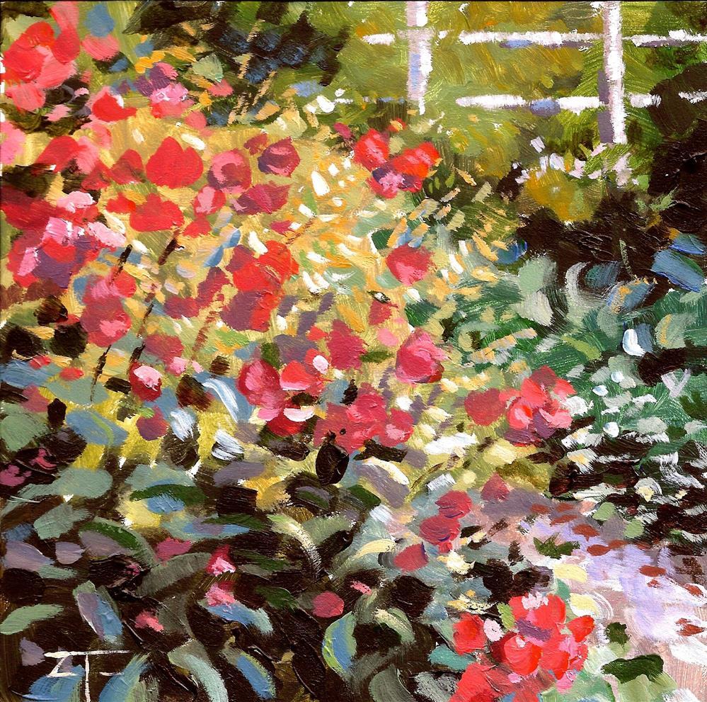 """""""Bennie's Garden"""" original fine art by Zack Thurmond"""