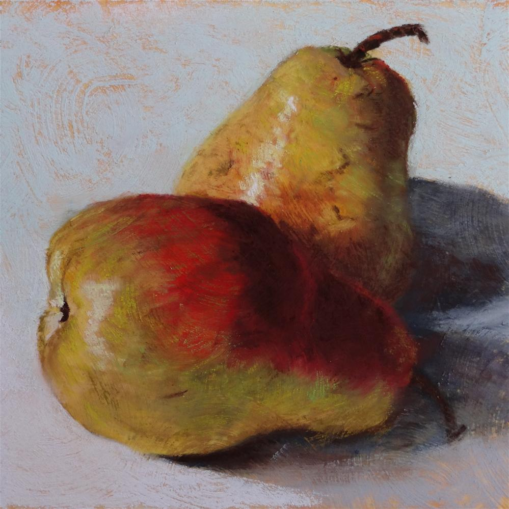 """""""Pears"""" original fine art by Denise Beard"""