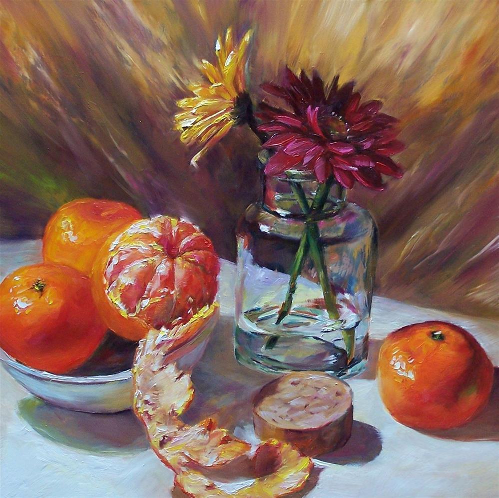 """Unraveled"" original fine art by Donna Munsch"