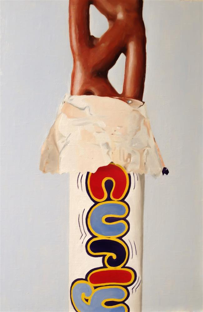 """Curly Wurly"" original fine art by James Coates"