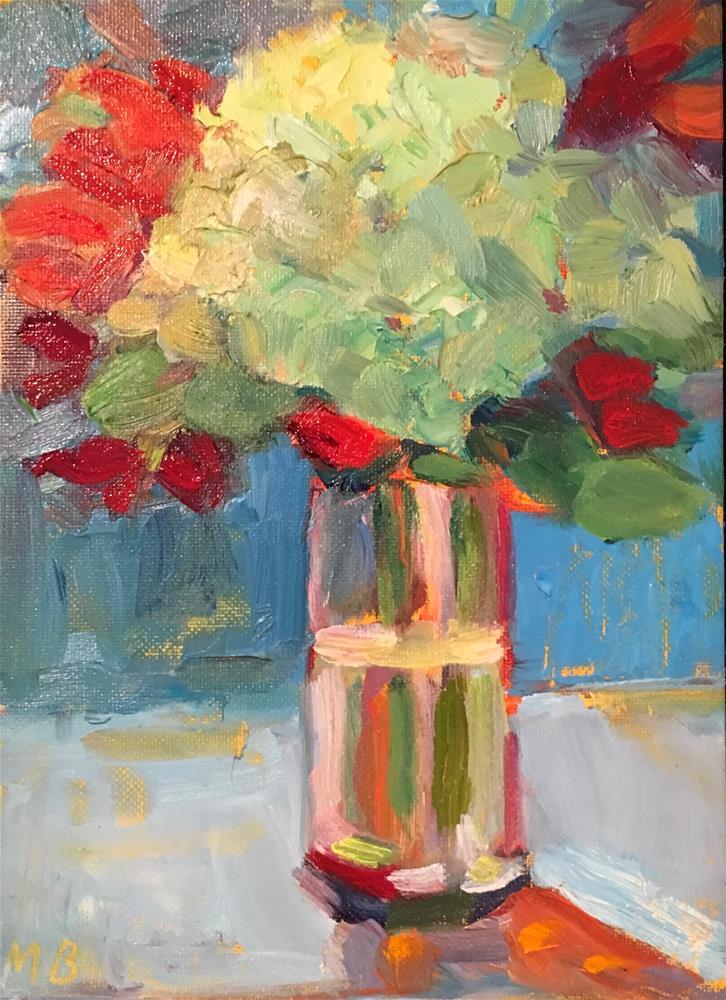 """Winter Bouquet "" original fine art by Marcia Bergtholdt"